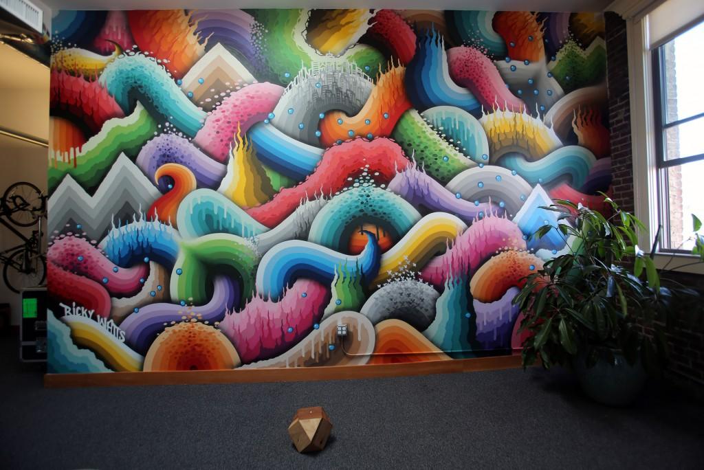 Ricky Watts mural
